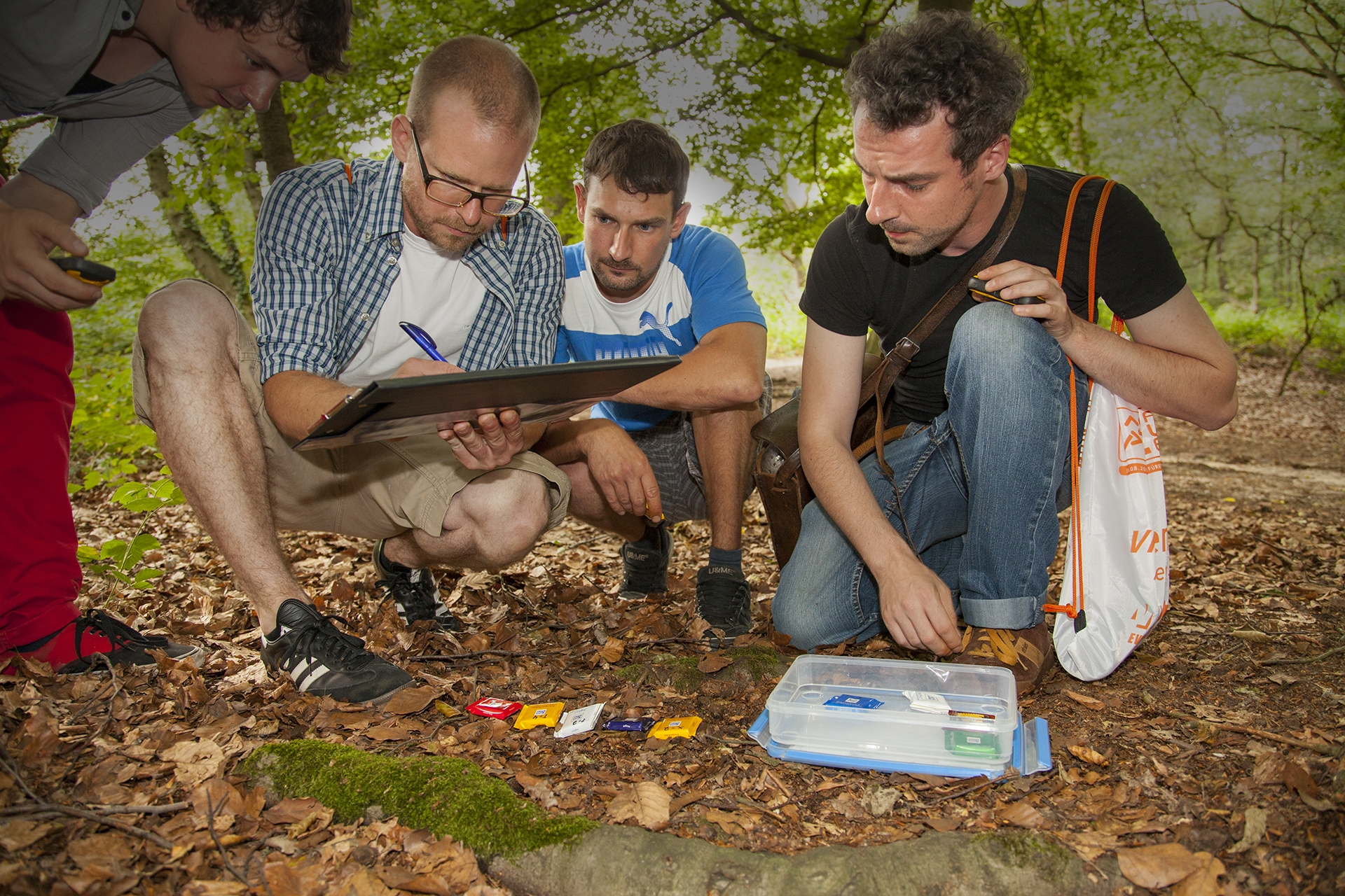 Geocaching Teambuilding