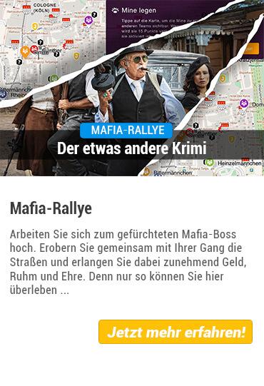 Mafia-Rallye als Teamevent Krimi von Stadthelden