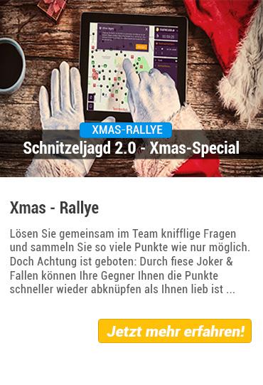 Teamevent Xmas-Rallye von Stadthelden