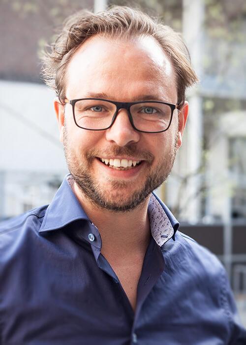 Geschäftsführer von Stadthelden Simon Schmidt