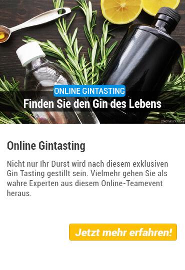 Übersicht Teamevent Online-Gin Tasting von Stadthelden
