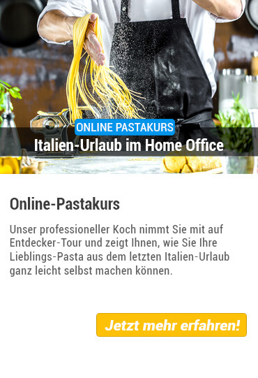 Online Pasta Kochkurs