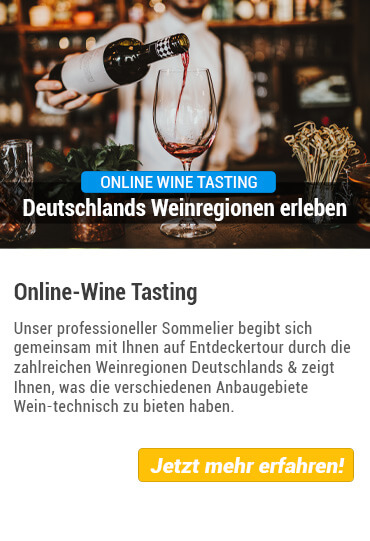 Übersicht Online Weintasting