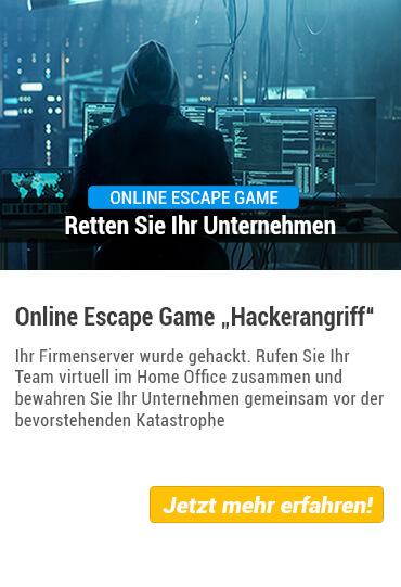 Übersicht Online Escape Game von Stadthelden