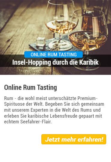 Übersicht Rum Tasting online